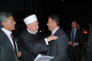 Bosna Hersek Diyanet Isleri Baskani Dr. Mustaf Ceric