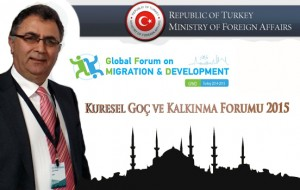 Veyis Gungor Kuresel Goc ve Kalkinma Forumu 2015 Global Forum on Migration and Development-GFMD UETD