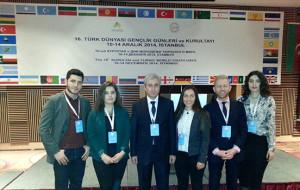 16. Türk Dünyası Gençlik Günleri ve Kurultayı İstanbul'da Gerçeklești