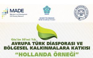 Konya'da Avrupa Türk Diasporası ve Bölgesel Kalkınma Paneli
