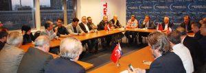 Hollandalı Türklerden iki ülke arasındaki sorunun çözümüne katkı