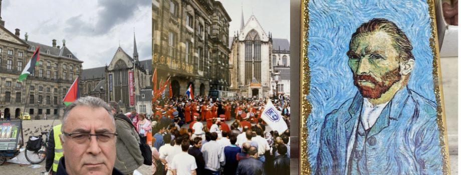 Amsterdam'daki mekânların hatırlattığı sosyal, kültürel ve bilimsel faaliyetler